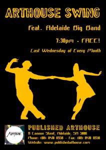 Adelaide Big Band - Arthouse Swing