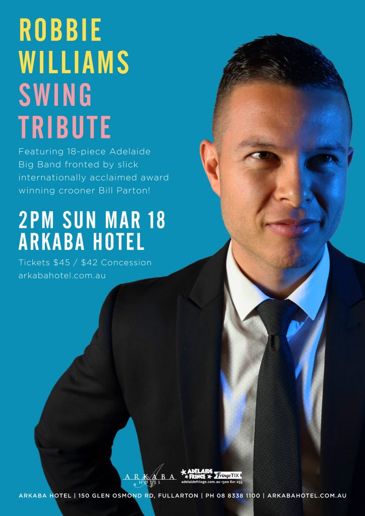 Robbie Williams Swing Tribute Adelaide